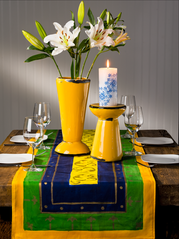 Hand Painted Table Runners -  - 1