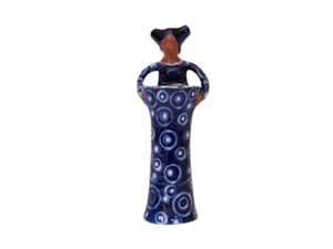 Xhosa Woman Vase - Small