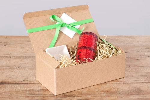 Gift Box - Berry Blaze red  3