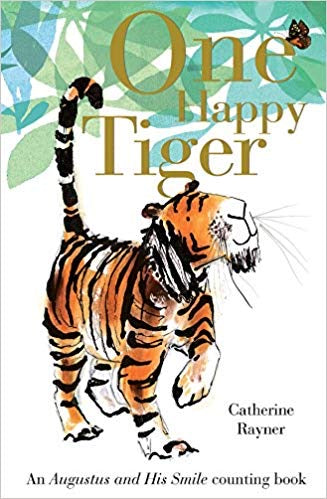 ONE HAPPY TIGER - BOARD BOOK