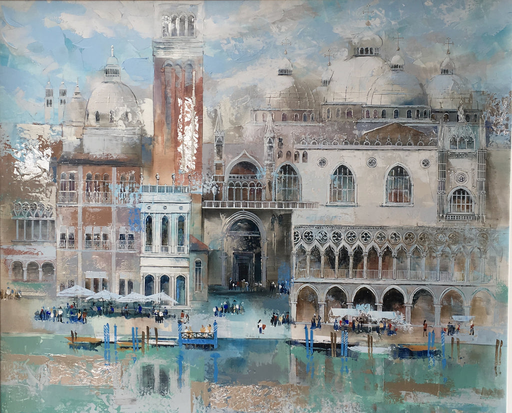 VENICE IN BLUE - SOLD