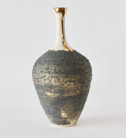 BOTTLE WITH LONG NECK - GOLD