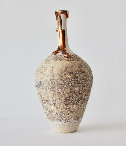 BOTTLE WITH LONG NECK - COPPER