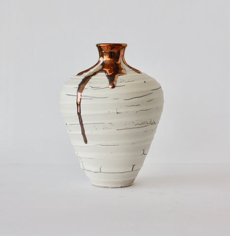 VASE WITH MEDIUM NECK - COPPER