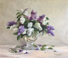 PURPLE AND WHITE LILAC