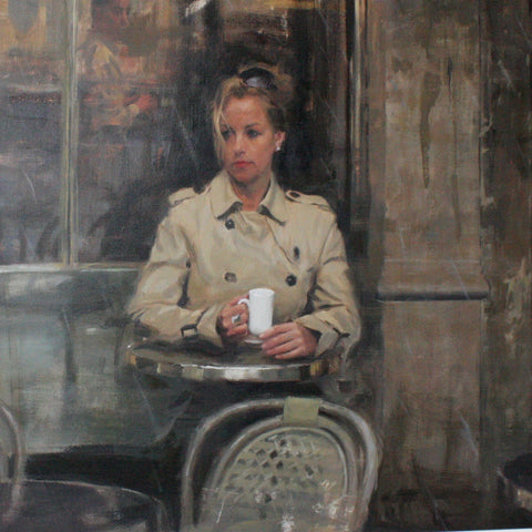 RAIN, PARIS CAFE (SOLD)