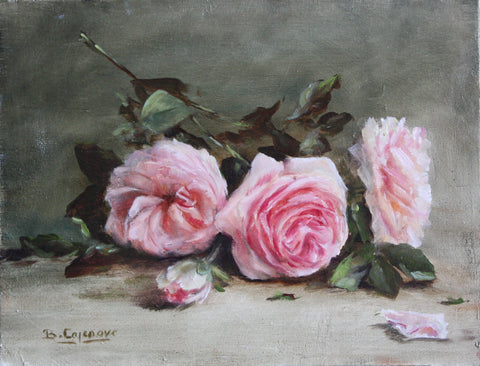 SCATTERED PINK ROSES