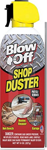 1 Bottle Blow-off Shop Air Duster 8 oz. - 1 Pack