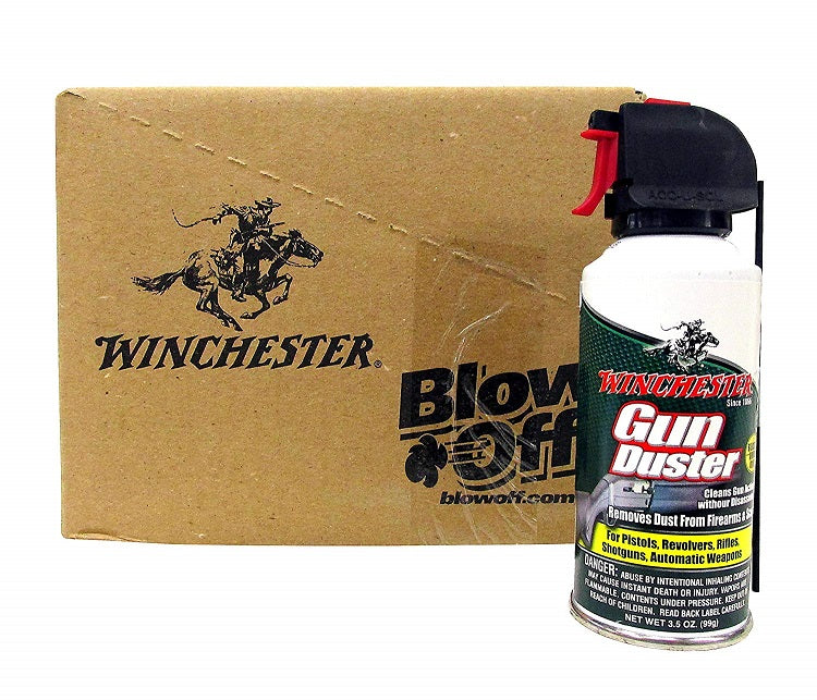 12 Bottles Winchester Mini Gun Duster 3.5 oz. - 12 Packs