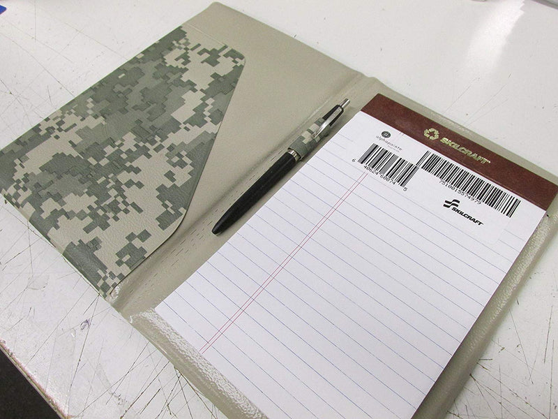 SKILCRAFT US Army Portfolio with Skilcraft Pen and Writing Pad (Memo Size) - 1 Pack