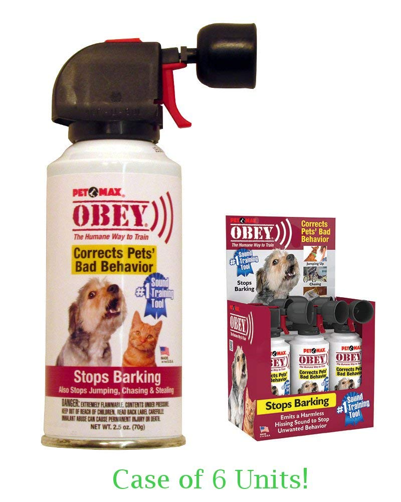 6 Pcs Max Professional Obey Humane Pet Training Tool (2.5oz) White - 6 Pack