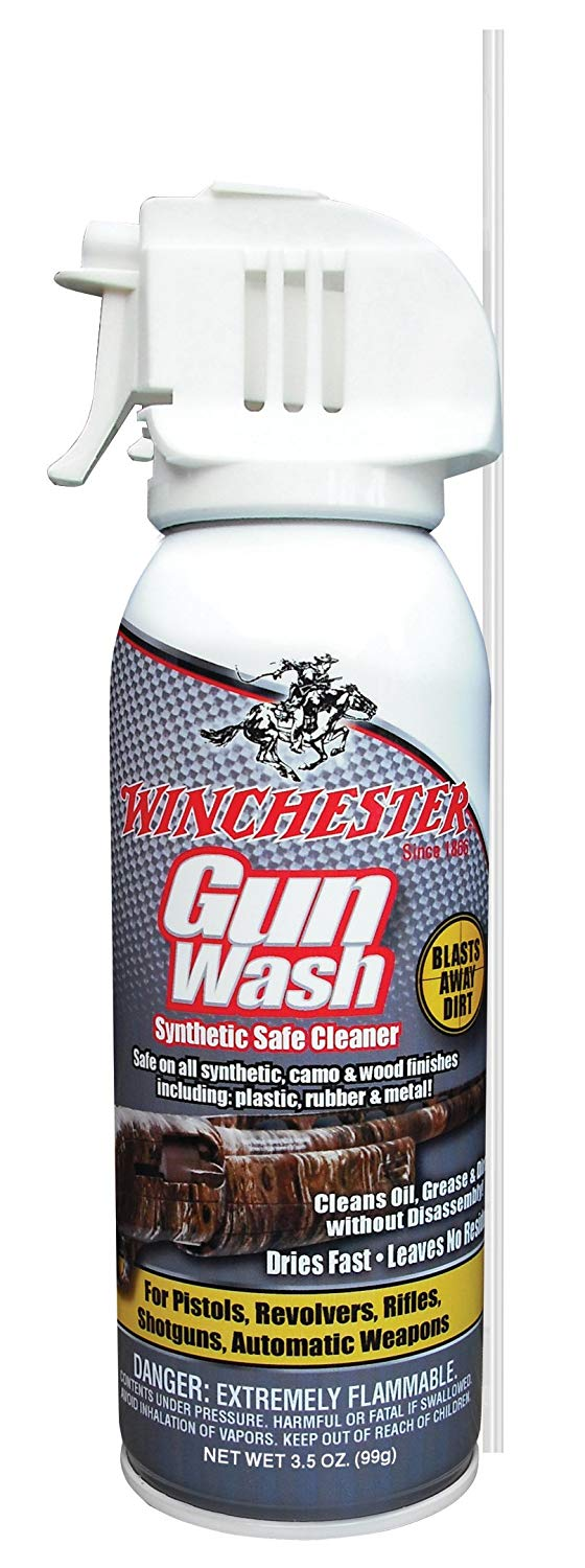 1 Bottle Winchester Synthetic Gun Wash 3.5 oz. - 1 Pack