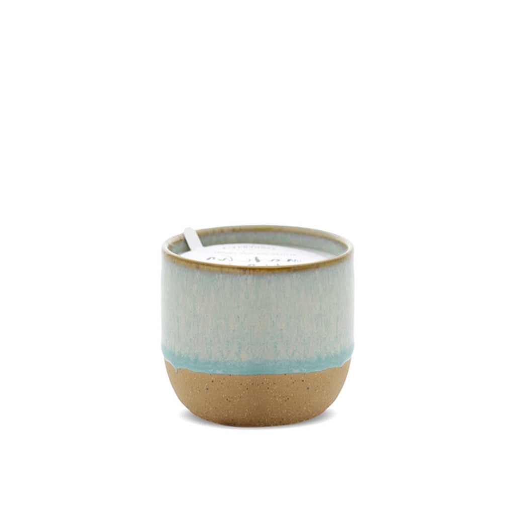 Matcha Tea + Bergamot Ceramic 6oz Candle