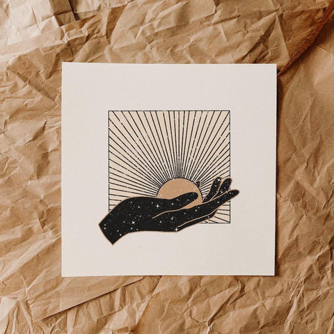 The Sun in You Print