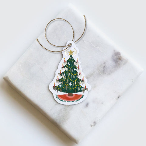 Christmas Tree Diecut Gift Tags
