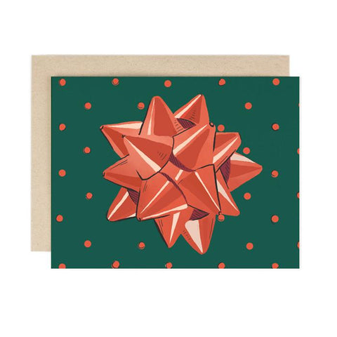 Bow Holiday Card Boxed Set