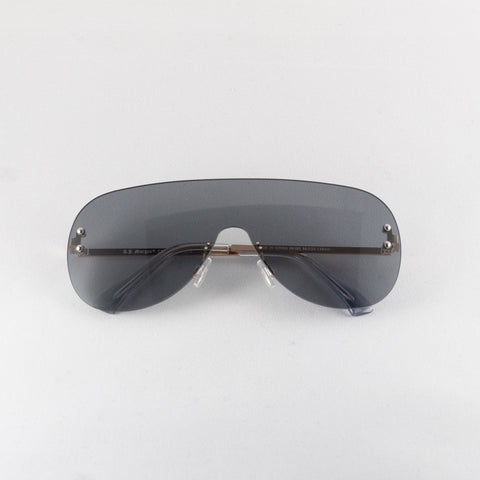 Black Rimless Shields