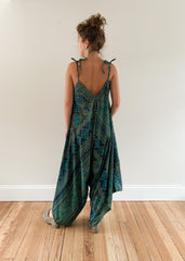 Go-To Jumpsuit Printed Jewel