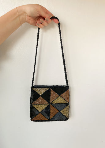 Beaded Triangle Bag