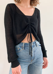 Warm Breeze Cropped Sweater