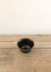 Black Ceramic Bowl