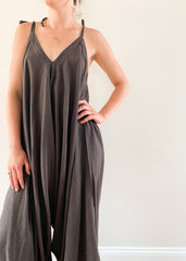 Go-To Jumpsuit Charcoal