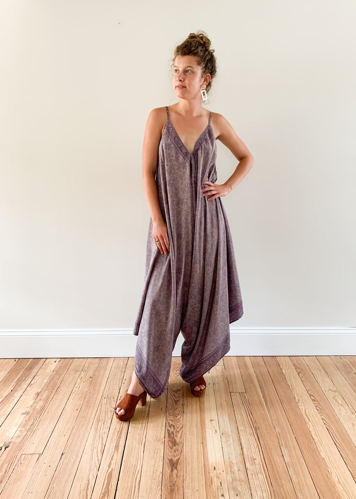 Go-To Jumpsuit Printed Lavender