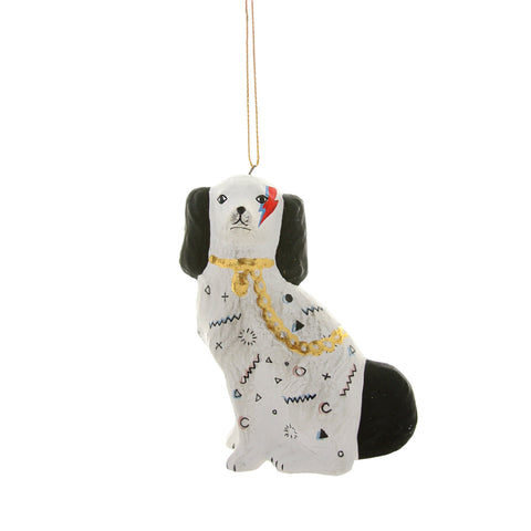 Bow Wow Bowie Ornament