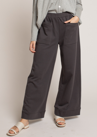Front Pocket Cotton Sweatpants