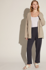 Oversized Cotton Jacket Twig