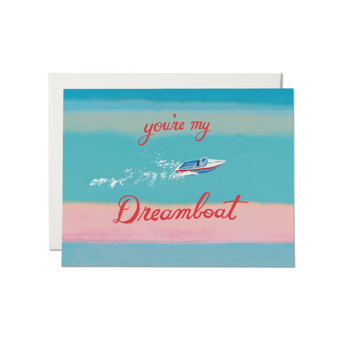 My Dreamboat Love Card
