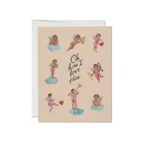 Little Cupids Valentine Card