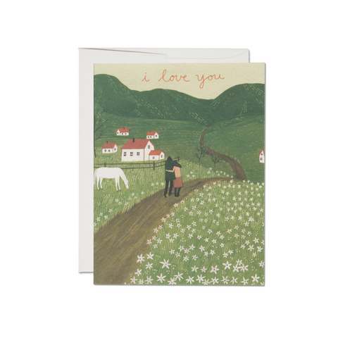Along the Road Love Card