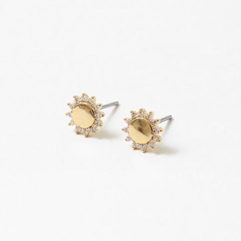 Bedazzled Sun Studs