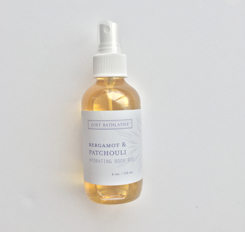 Bergamot & Patchouli Hydrating Body Oil