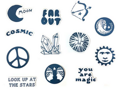 Cosmic Pocket Sticker Set