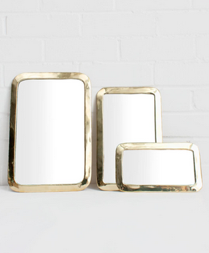 Moroccan Rounded Rectangle Mirror