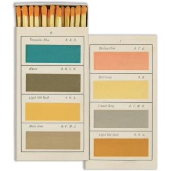 Painters Handbook Matches