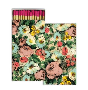 Floral Collage Matches