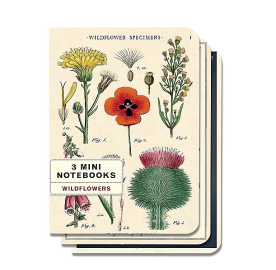Wildflowers Mini Notebooks