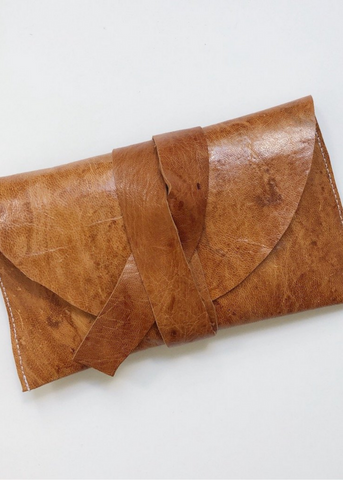 Leather Tarot Pouch