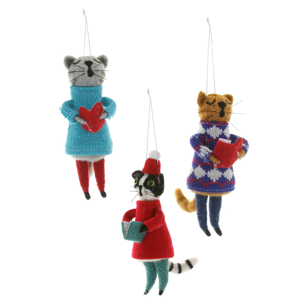 Choir Cat Ornament