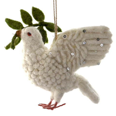 Peaceful Tidings Ornament