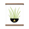 House Plant Friend - Triangle- 8x10