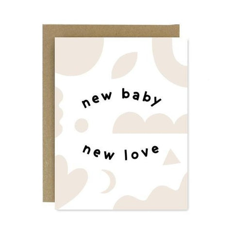 New Baby New Love Card