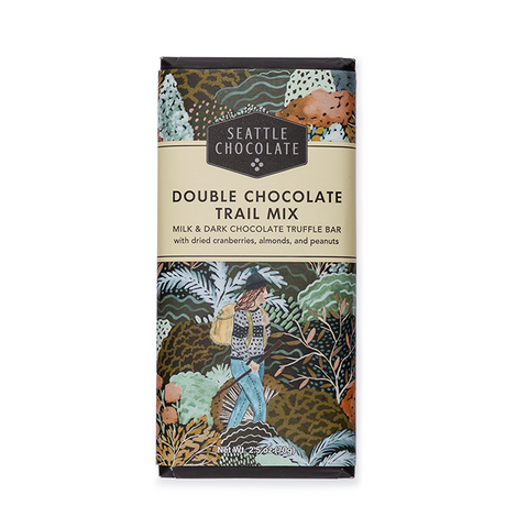 Double Chocolate Trail Mix Truffle Bar