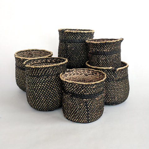 Black Iringa Mini Basket