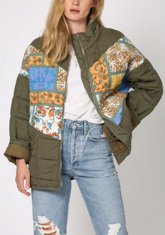 Patchwork Jacket