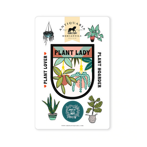 Plant Lady Sticker Sheet