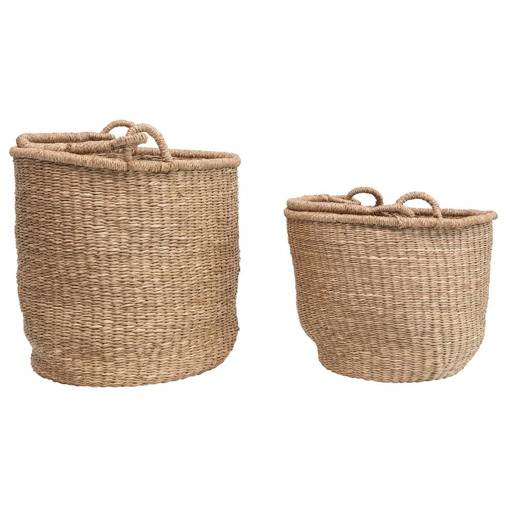 Tight Woven Seagrass Basket